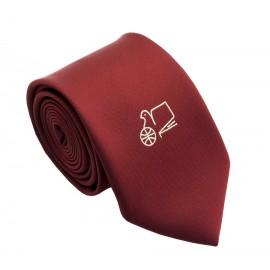 """Ученическа вратовръзка """"Английска  гимнназия """"Гео Милев"""" - Русе"""""""